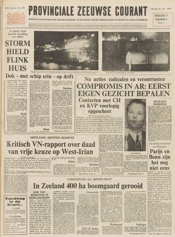 Provinciale Zeeuwse Courant 1969-11-10