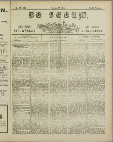 De Zeeuw. Christelijk-historisch nieuwsblad voor Zeeland 1898-03-26