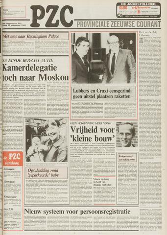 Provinciale Zeeuwse Courant 1983-09-23