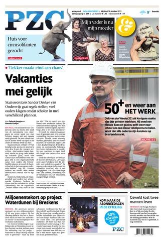 Provinciale Zeeuwse Courant 2015-10-16