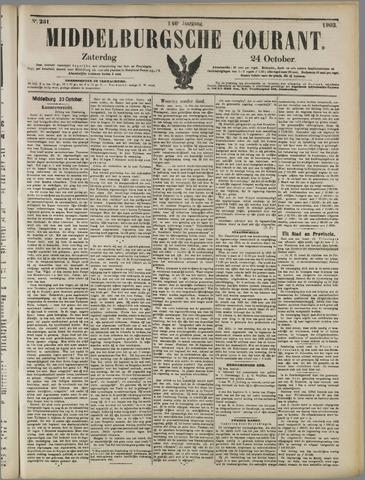 Middelburgsche Courant 1903-10-24