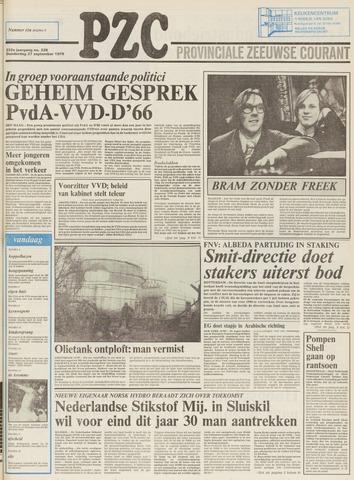 Provinciale Zeeuwse Courant 1979-09-27