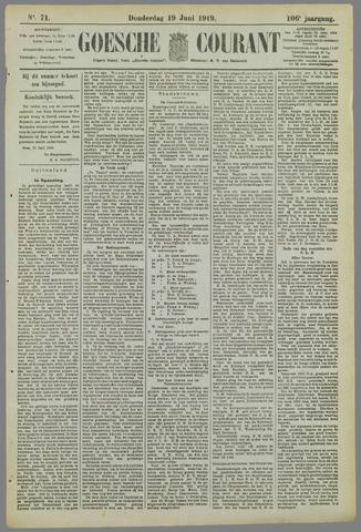 Goessche Courant 1919-06-19