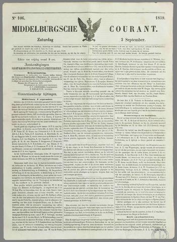 Middelburgsche Courant 1859-09-03
