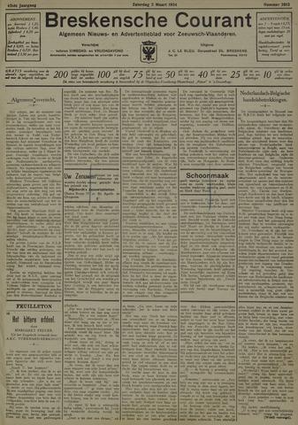 Breskensche Courant 1934-03-03
