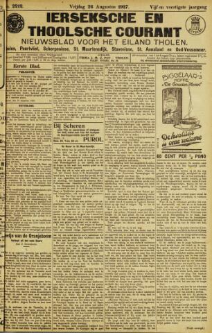 Ierseksche en Thoolsche Courant 1927-08-26