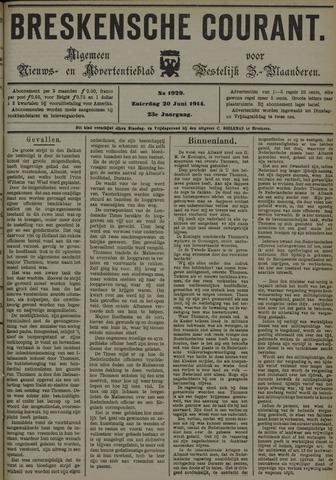 Breskensche Courant 1914-06-20