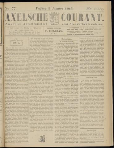 Axelsche Courant 1915