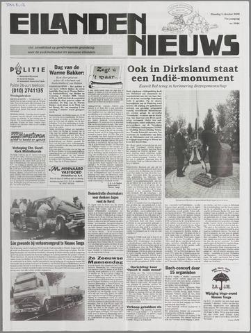 Eilanden-nieuws. Christelijk streekblad op gereformeerde grondslag 2000-10-03