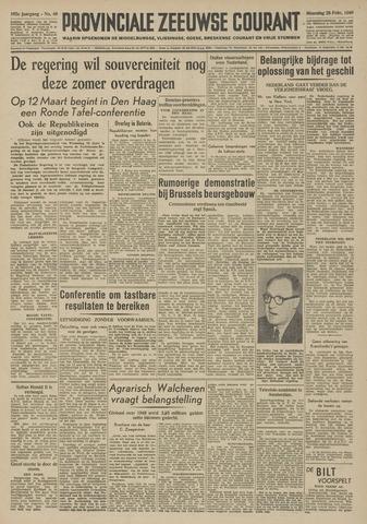 Provinciale Zeeuwse Courant 1949-02-28