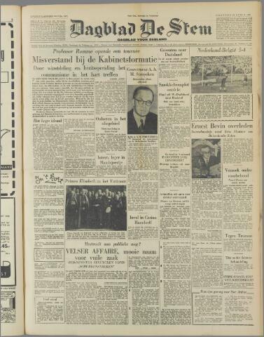 de Stem 1951-04-16