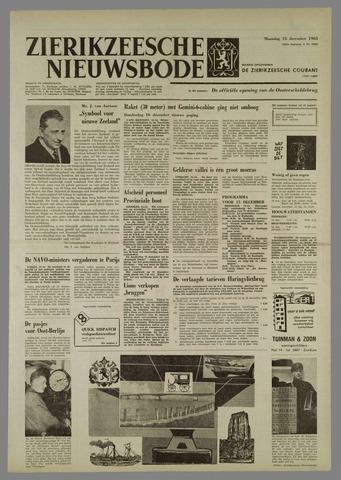 Zierikzeesche Nieuwsbode 1965-12-13