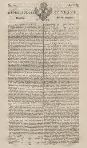 Middelburgsche Courant 1763-02-15