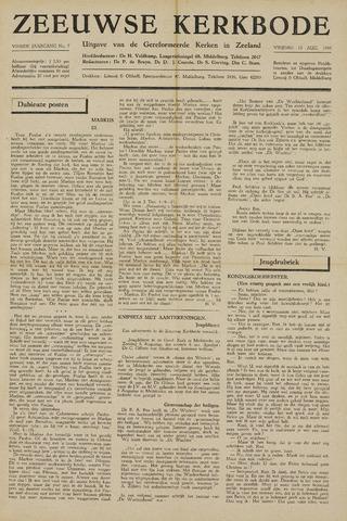 Zeeuwsche kerkbode, weekblad gewijd aan de belangen der gereformeerde kerken/ Zeeuwsch kerkblad 1948-08-13