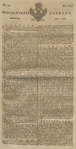 Middelburgsche Courant 1775-04-06