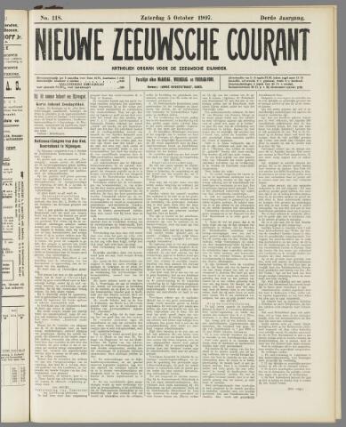 Nieuwe Zeeuwsche Courant 1907-10-05