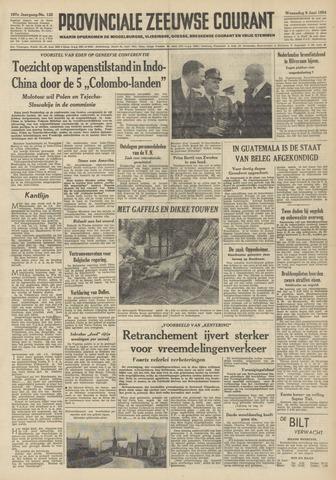 Provinciale Zeeuwse Courant 1954-06-09