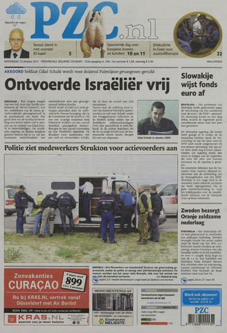 Provinciale Zeeuwse Courant 2011-10-12