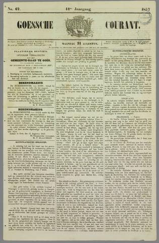 Goessche Courant 1857-08-31