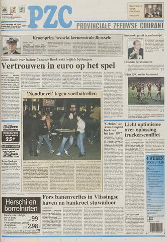 Provinciale Zeeuwse Courant 1997-11-06