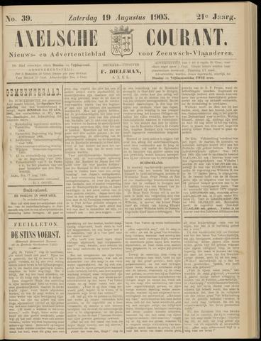 Axelsche Courant 1905-08-19