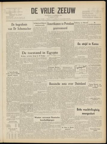 de Vrije Zeeuw 1952-08-25