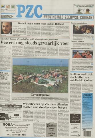 Provinciale Zeeuwse Courant 1999-10-09
