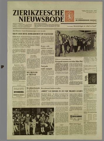 Zierikzeesche Nieuwsbode 1972-12-22