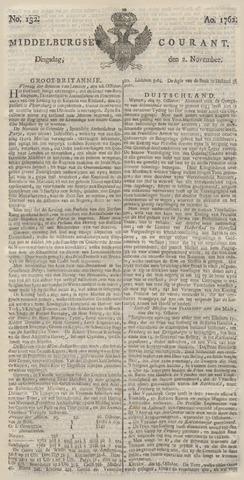 Middelburgsche Courant 1762-11-02