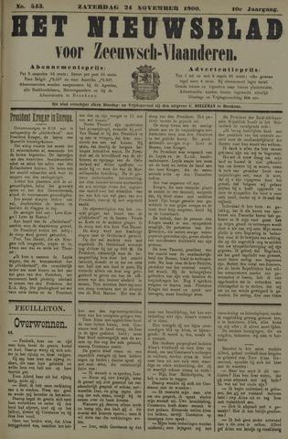 Nieuwsblad voor Zeeuwsch-Vlaanderen 1900-11-24