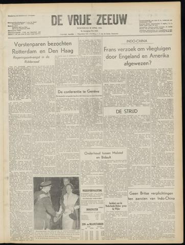de Vrije Zeeuw 1954-04-28
