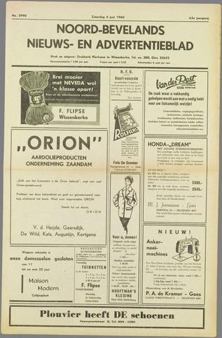Noord-Bevelands Nieuws- en advertentieblad 1960-06-04