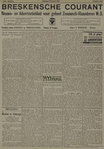 Breskensche Courant 1936-02-11