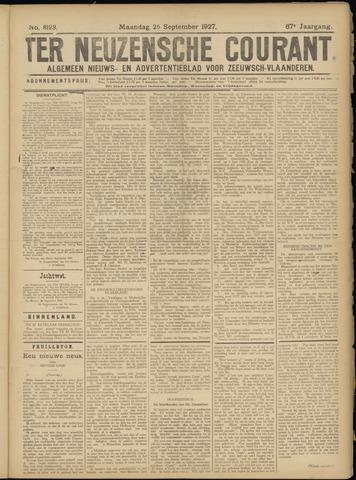Ter Neuzensche Courant. Algemeen Nieuws- en Advertentieblad voor Zeeuwsch-Vlaanderen / Neuzensche Courant ... (idem) / (Algemeen) nieuws en advertentieblad voor Zeeuwsch-Vlaanderen 1927-09-26