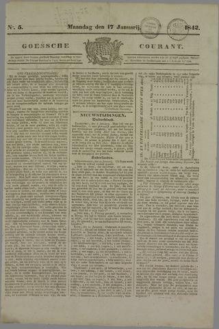 Goessche Courant 1842-01-17
