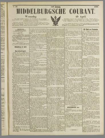 Middelburgsche Courant 1906-04-25