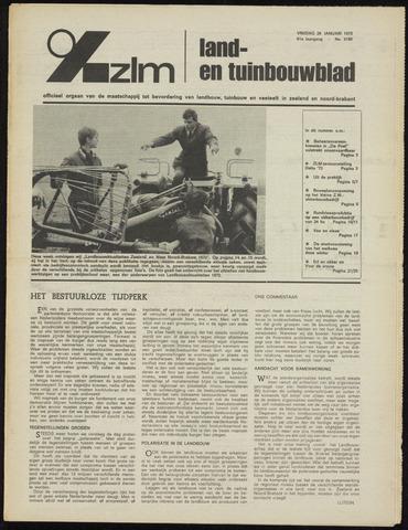Zeeuwsch landbouwblad ... ZLM land- en tuinbouwblad 1973-01-26