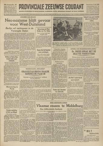 Provinciale Zeeuwse Courant 1952-07-17