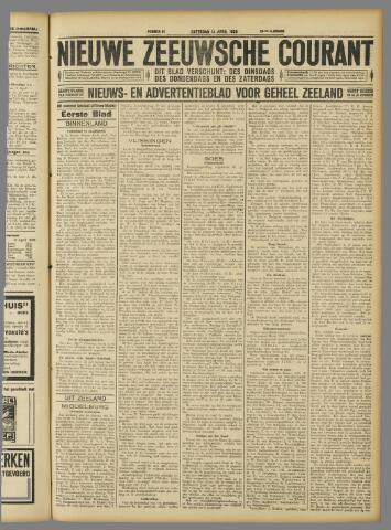 Nieuwe Zeeuwsche Courant 1928-04-14