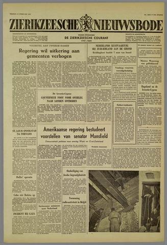 Zierikzeesche Nieuwsbode 1959-02-13