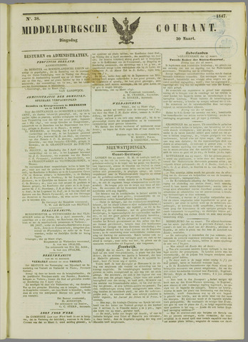 Middelburgsche Courant 1847-03-30