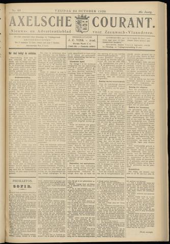 Axelsche Courant 1930-10-24
