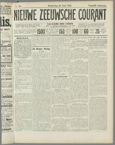 Nieuwe Zeeuwsche Courant 1916-06-29