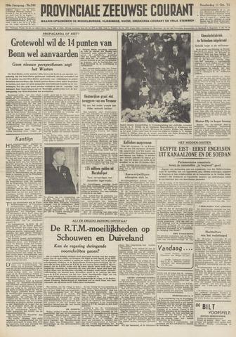 Provinciale Zeeuwse Courant 1951-10-11