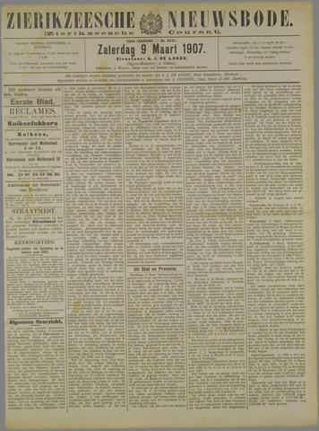 Zierikzeesche Nieuwsbode 1907-03-09