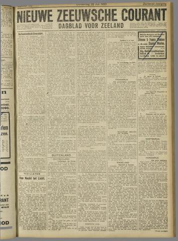Nieuwe Zeeuwsche Courant 1920-07-22