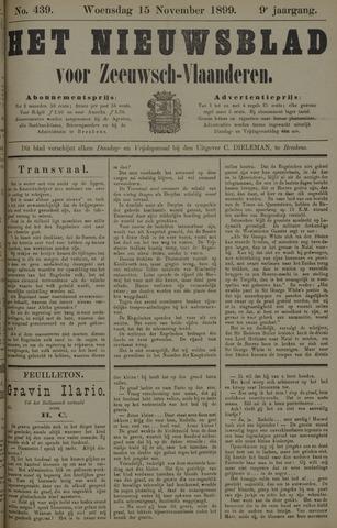 Nieuwsblad voor Zeeuwsch-Vlaanderen 1899-11-15