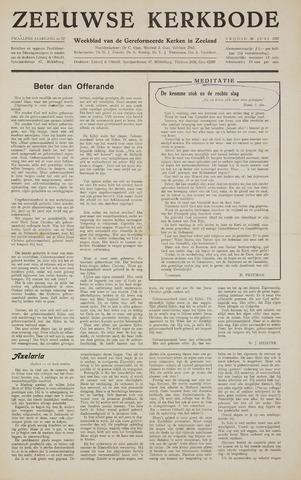 Zeeuwsche kerkbode, weekblad gewijd aan de belangen der gereformeerde kerken/ Zeeuwsch kerkblad 1957-06-28