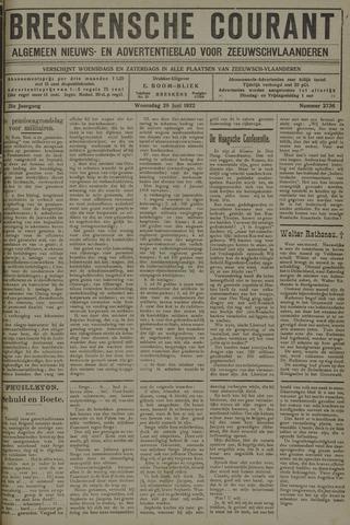 Breskensche Courant 1922-06-28