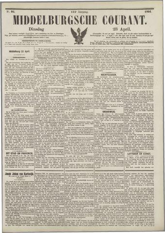 Middelburgsche Courant 1901-04-23